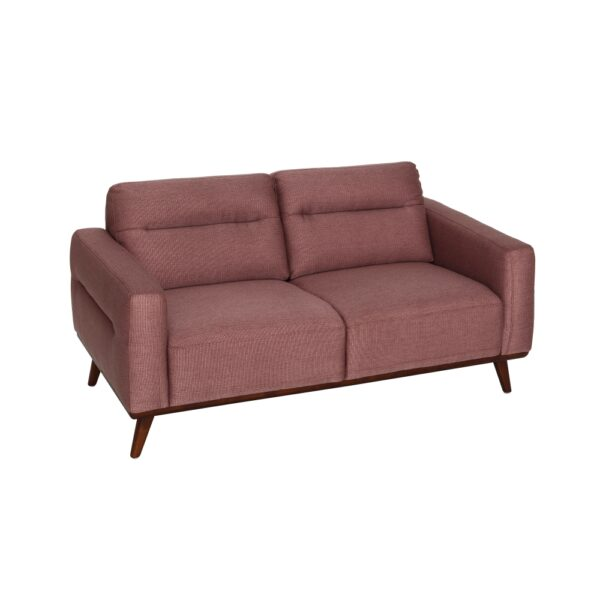 Sofá 2 plazas rosa