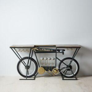 Consola bicicleta natural gris hierro