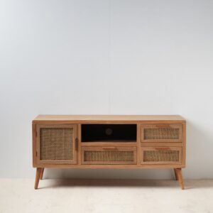 Mueble TV natural dm ratan salón