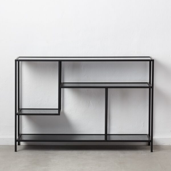 estanteria hierrro metal salon