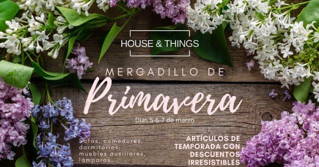 mercadillo primavera houseandtthings Las rozas
